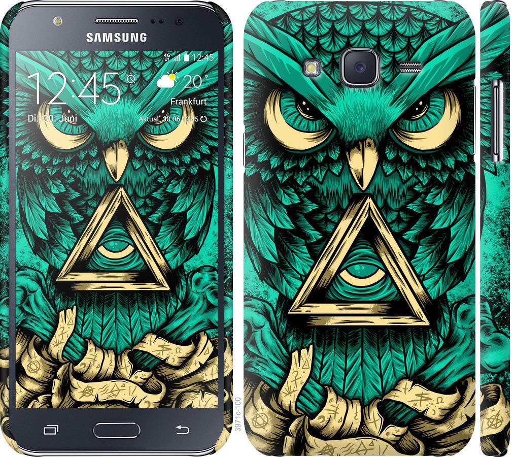 Чохол на Samsung Galaxy J5 (2015) J500H Сова Арт-тату