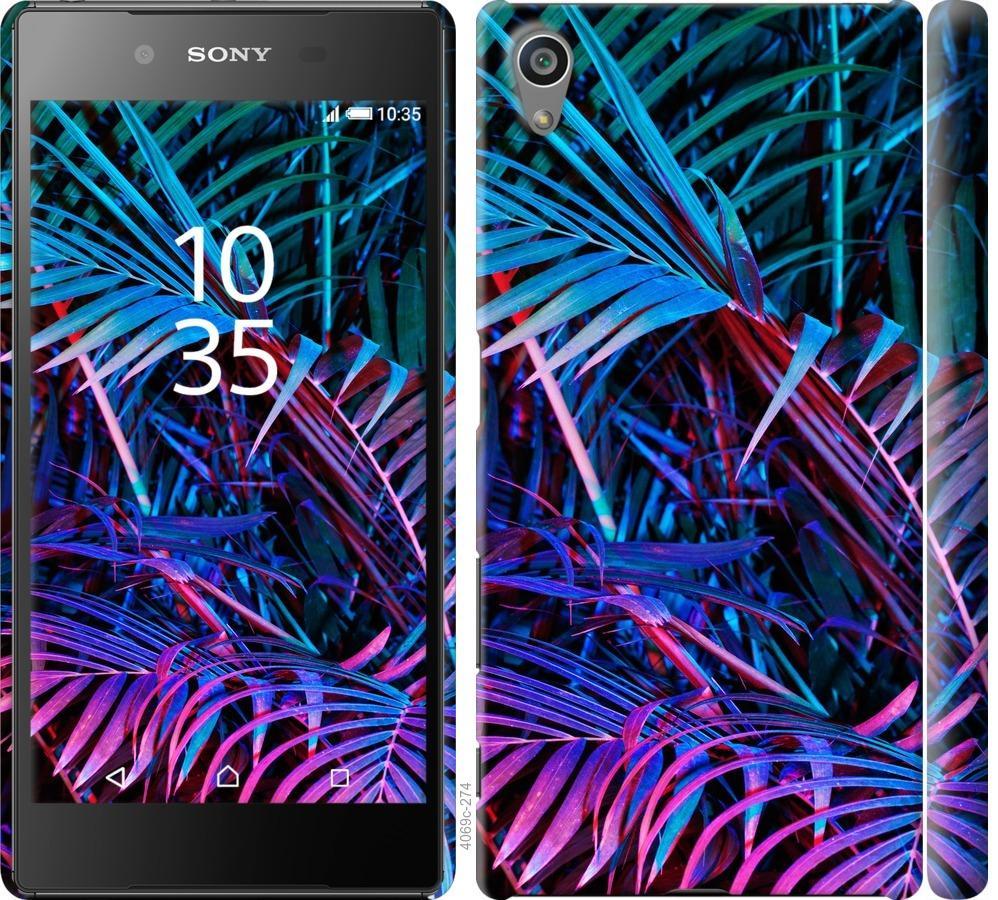 Чохол на Sony Xperia Z5 E6633 Папороть під ультрафіолетом