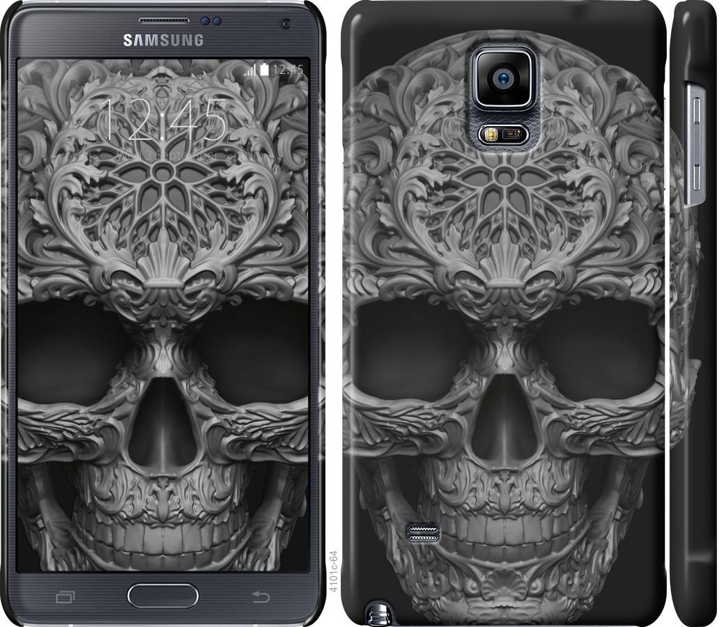 Чехол на Samsung Galaxy Note 4 N910H skull-ornament