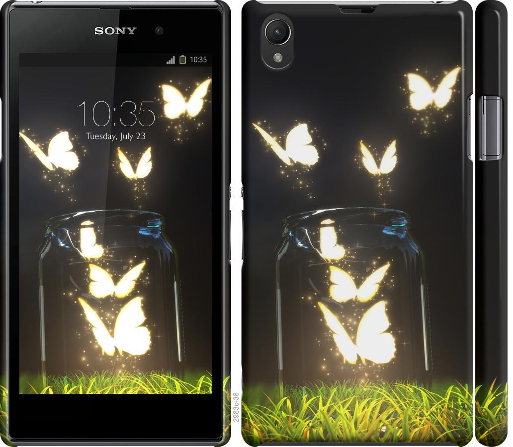 Чохол на Sony Xperia Z1 C6902  Сяючі метелики