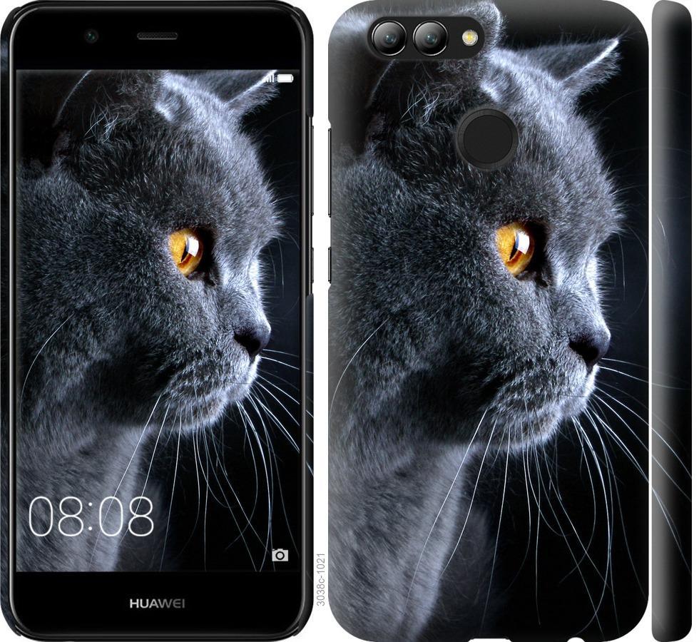 Чехол на Huawei Nova 2 Красивый кот