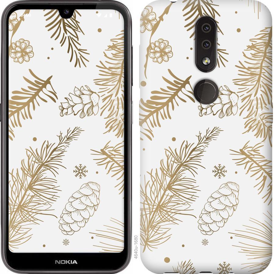 Чехол на Nokia 4.2 Зимний