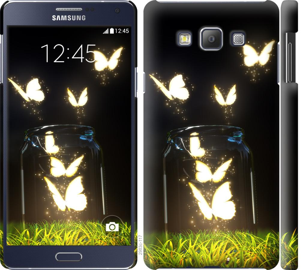 Чехол на Samsung Galaxy A7 A700H Бабочки