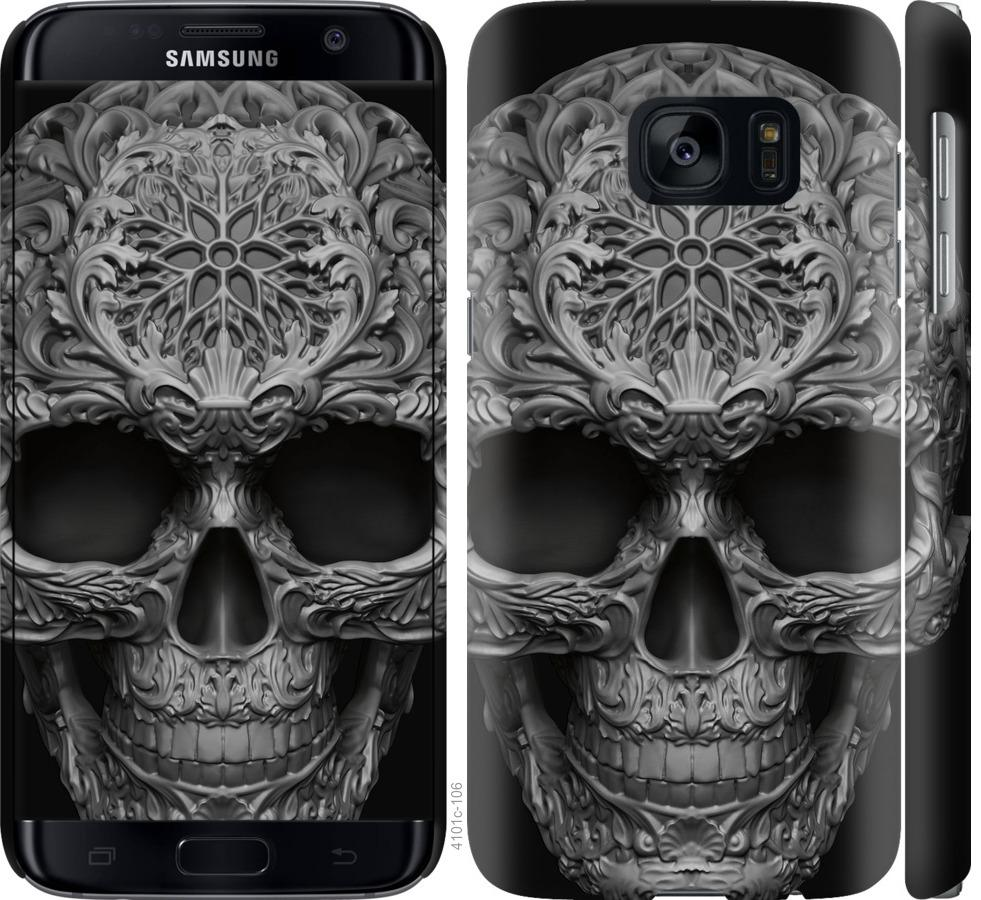 Чохол на Samsung Galaxy S7 G930F skull-ornament
