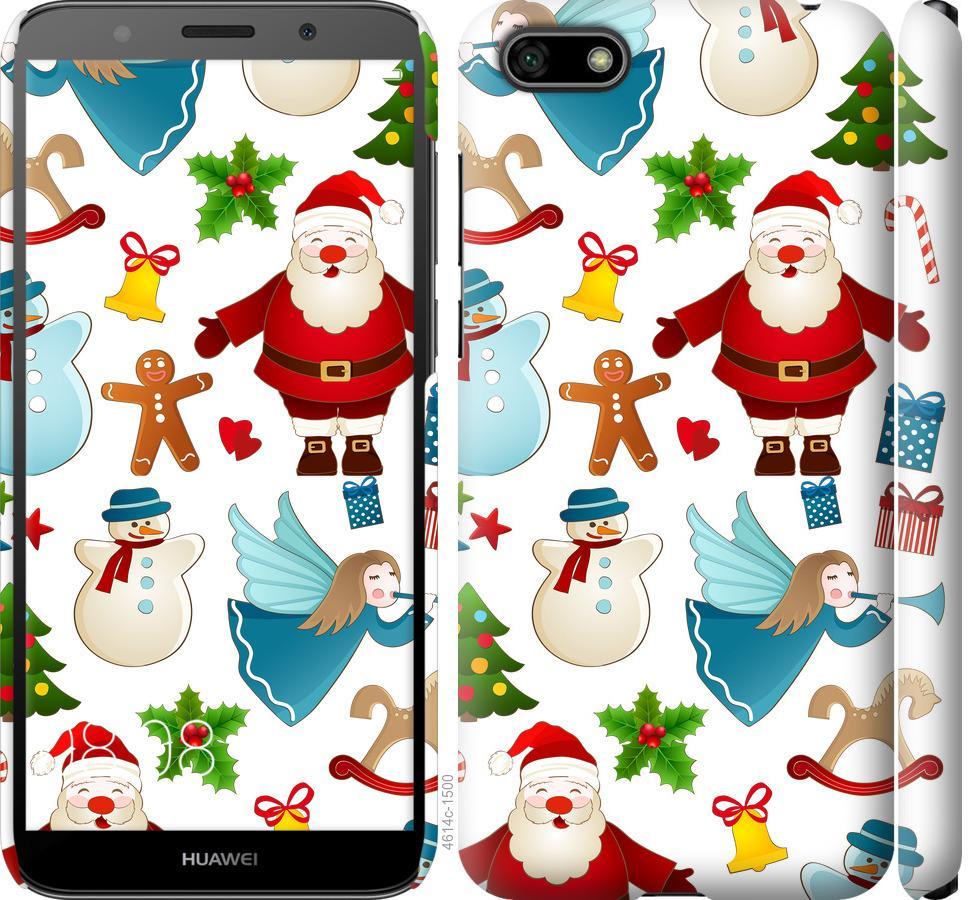 Чехол на Huawei Y5 2018 Новогодний 1