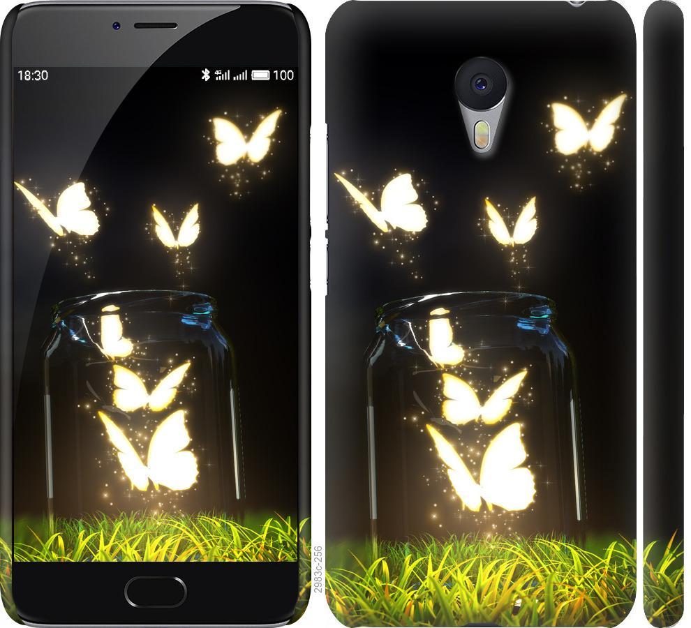 Чехол на Meizu M3 Note Бабочки