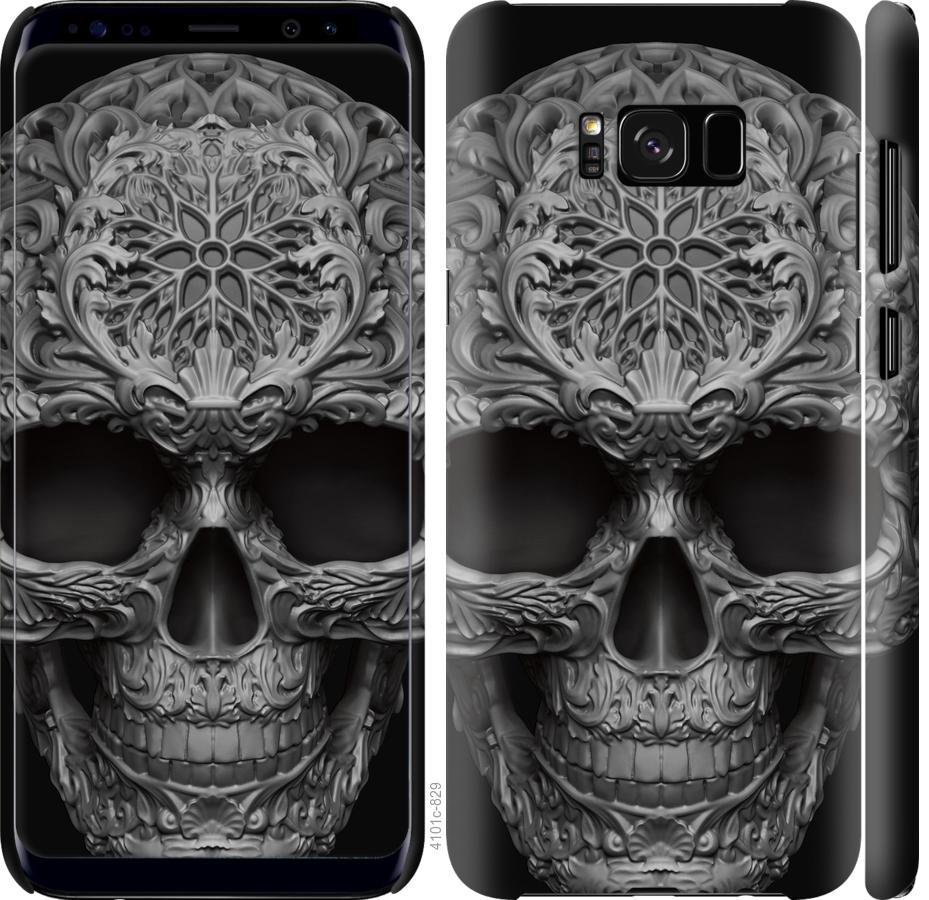 Чехол на Samsung Galaxy S8 skull-ornament