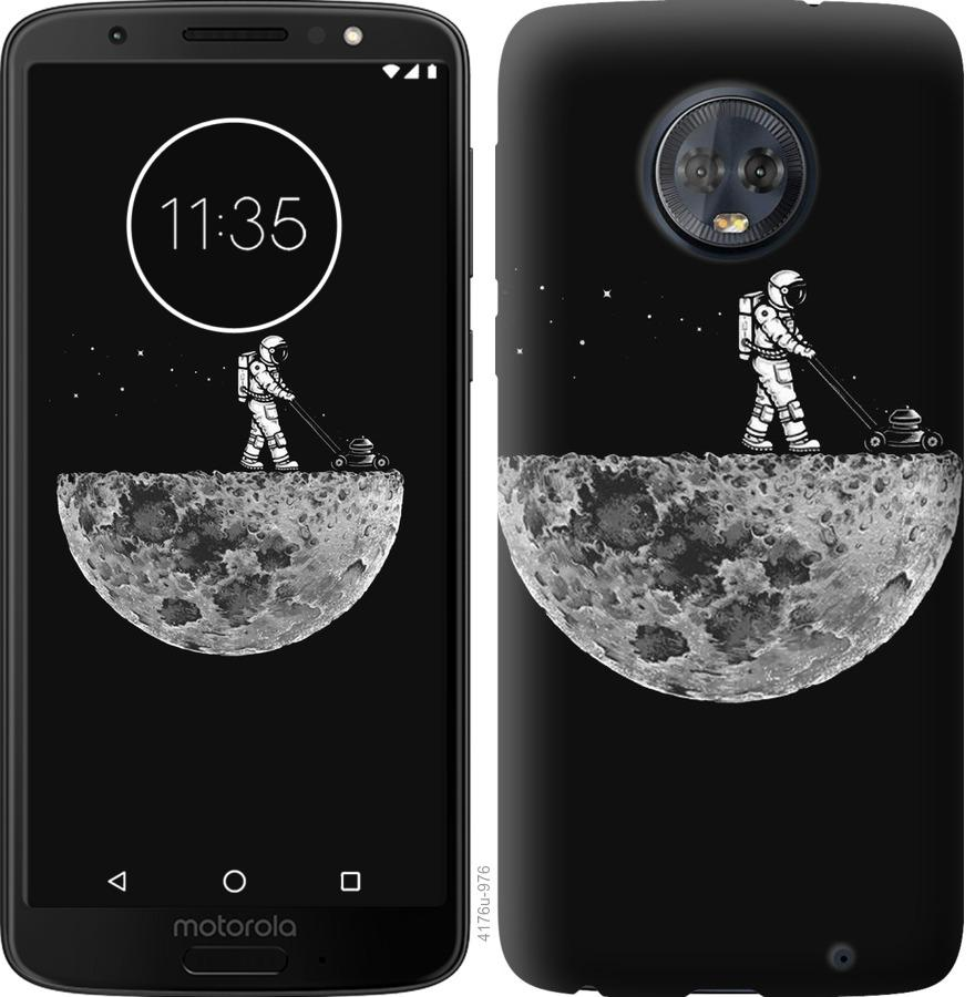 Чехол на Motorola Moto G6 Plus Moon in dark
