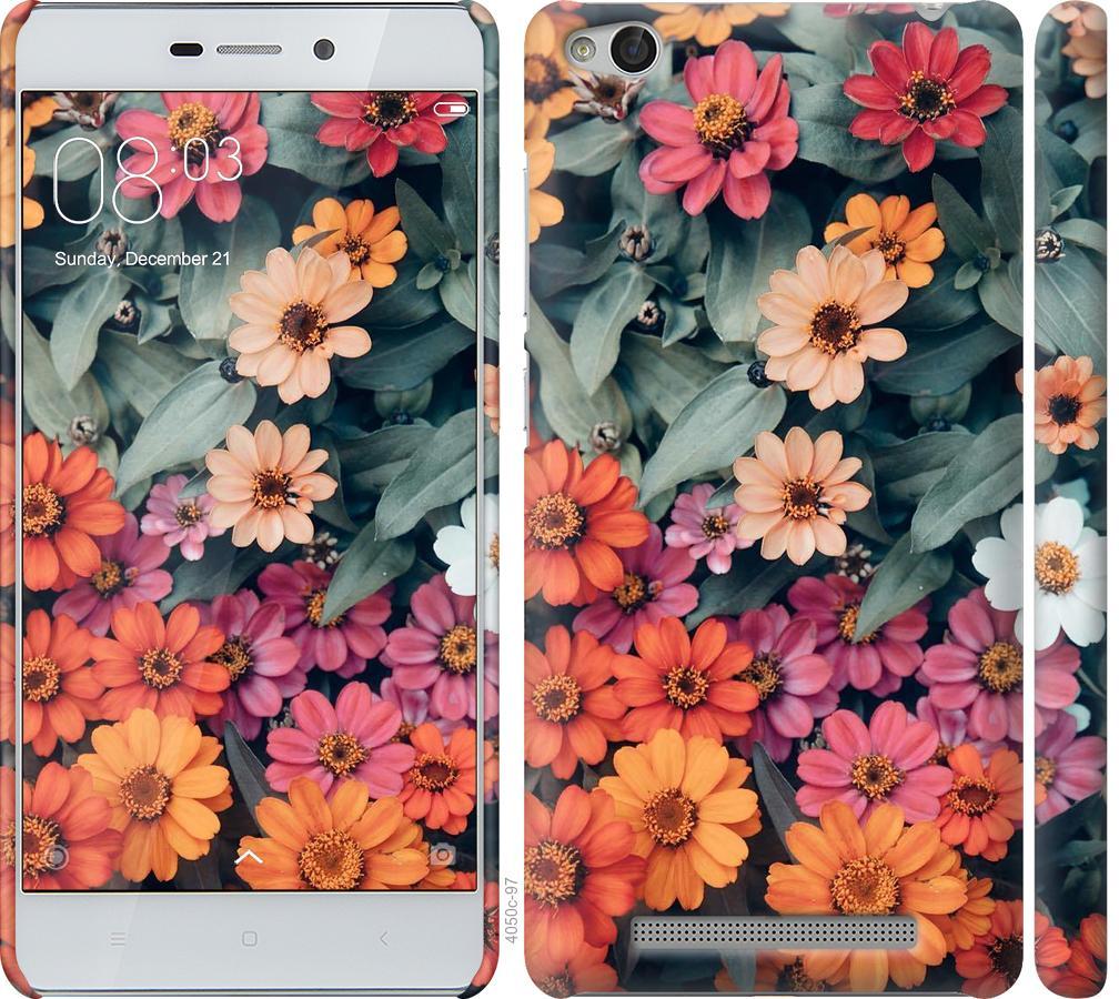 Чехол на Xiaomi Redmi 3 Beauty flowers