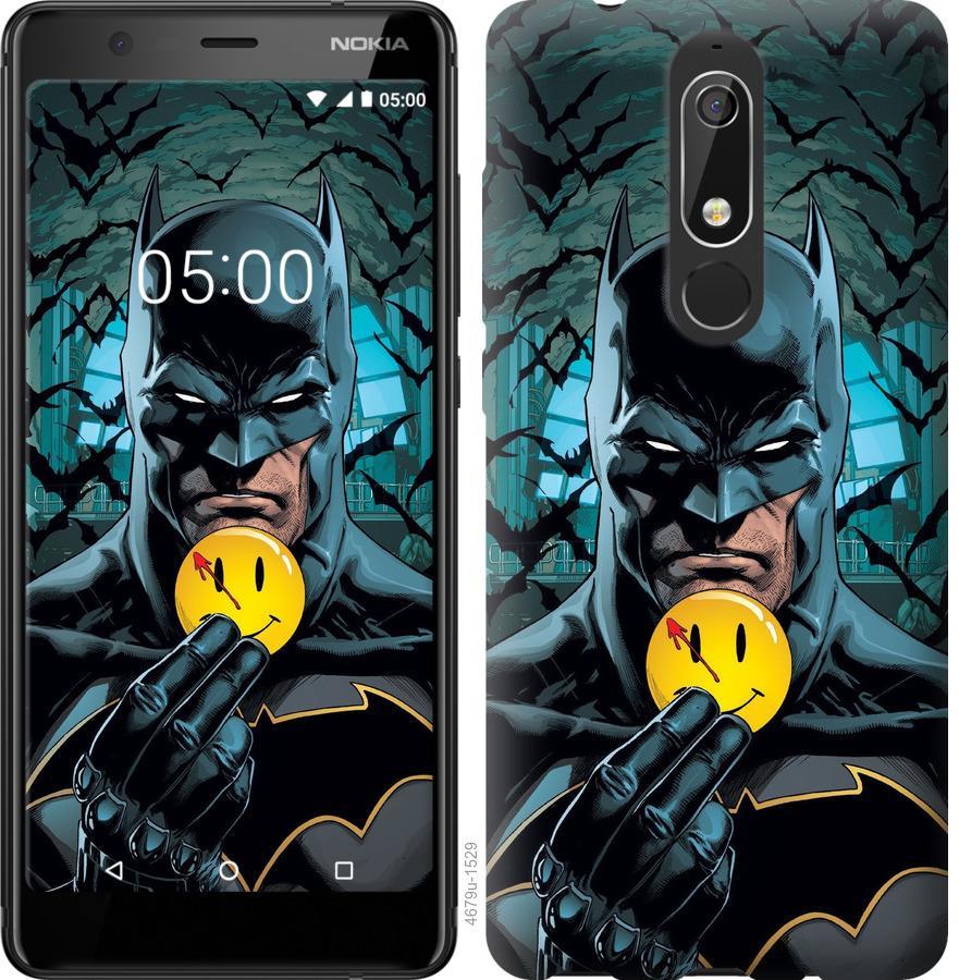 Чехол на Nokia 5.1 Бэтмен 2