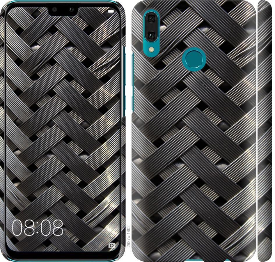 Чехол на Huawei Y9 2019 Металлические фоны