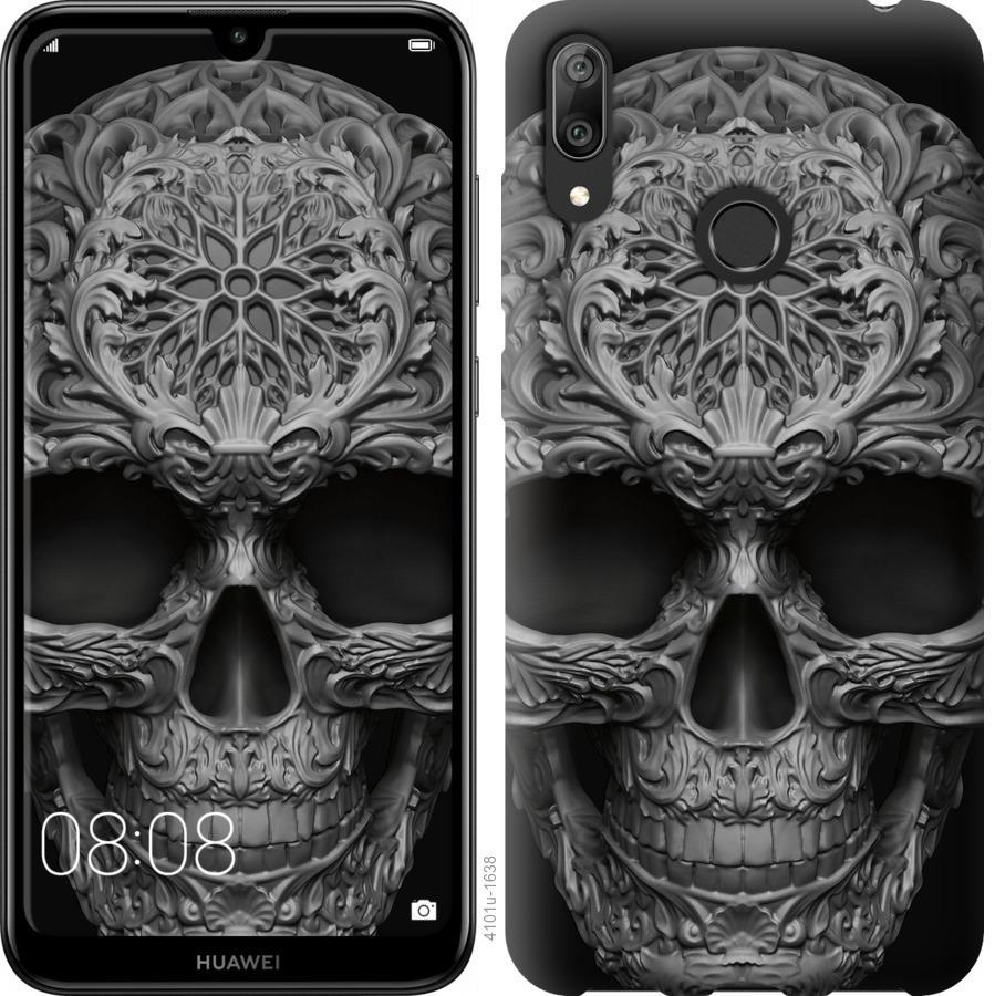 Чехол на Huawei Y7 2019 skull-ornament