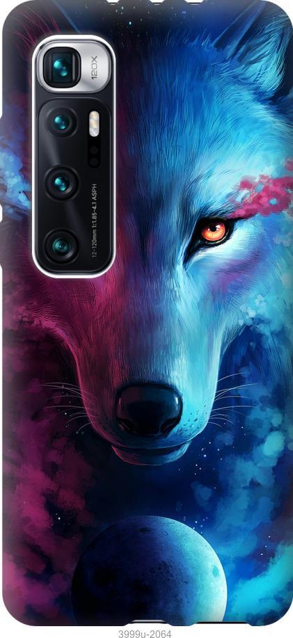 Чехол на Xiaomi Mi 10 Ultra Арт-волк