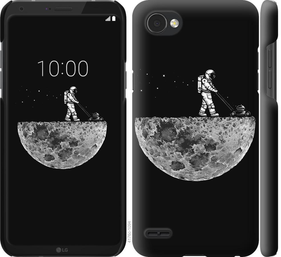 Чехол на LG Q6 Moon in dark