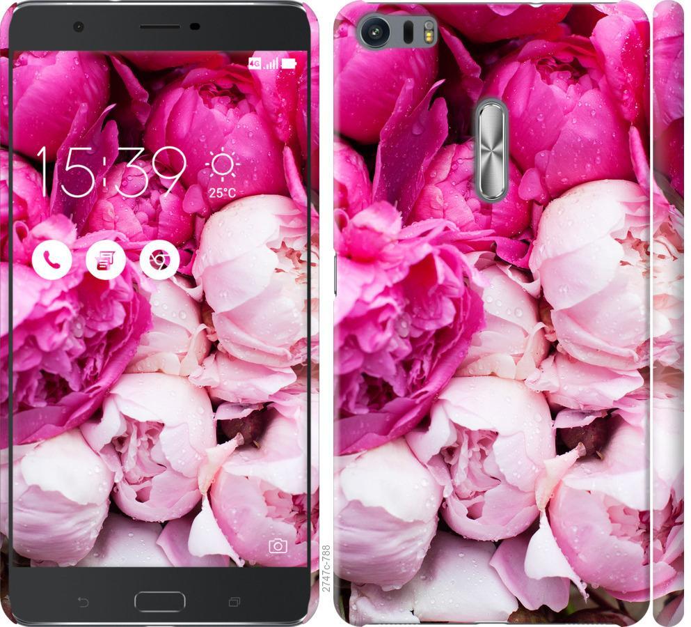 Чохол на Asus Zenfone 3 Ultra ZU680KL Рожеві півонії