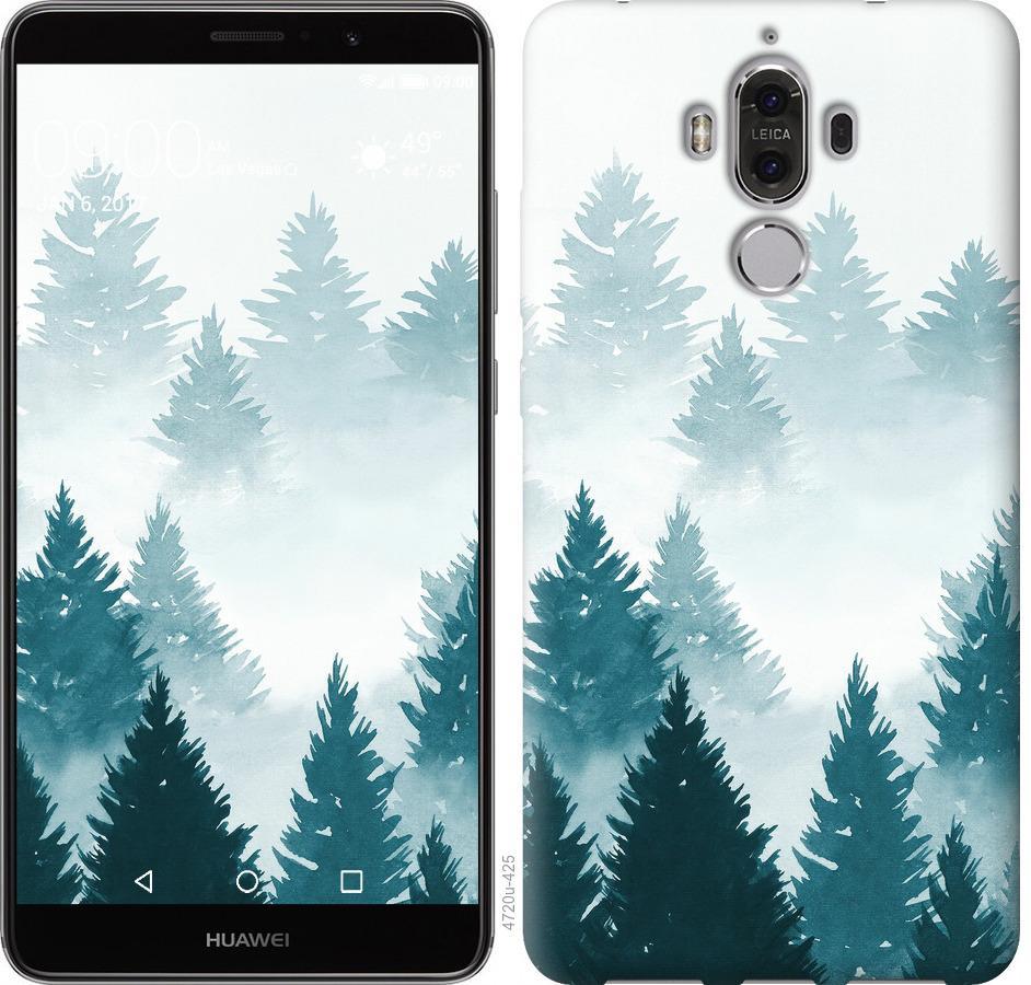 Чохол на Huawei Mate 9 Акварельні Ялинки