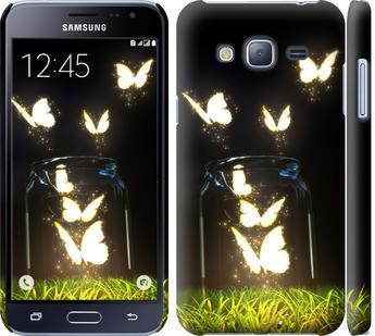 Чехол на Samsung Galaxy J3 Duos (2016) J320H Бабочки