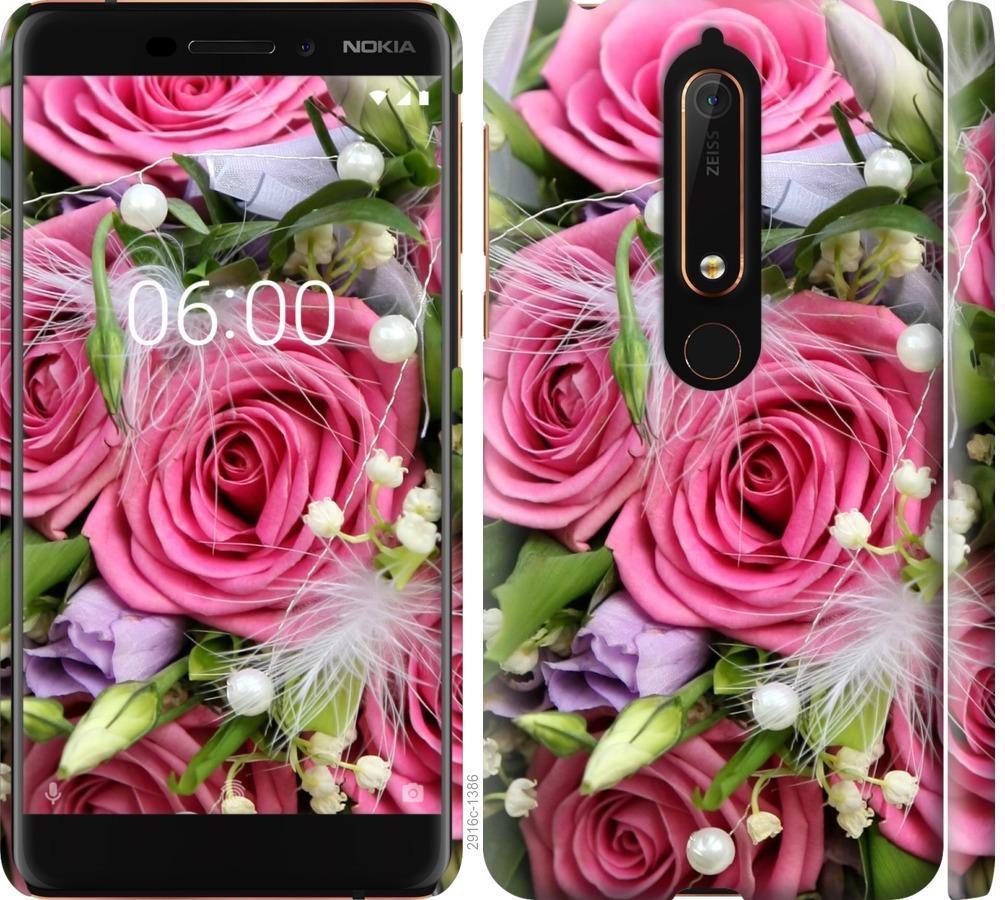 Чехол на Nokia 6.1 Нежность