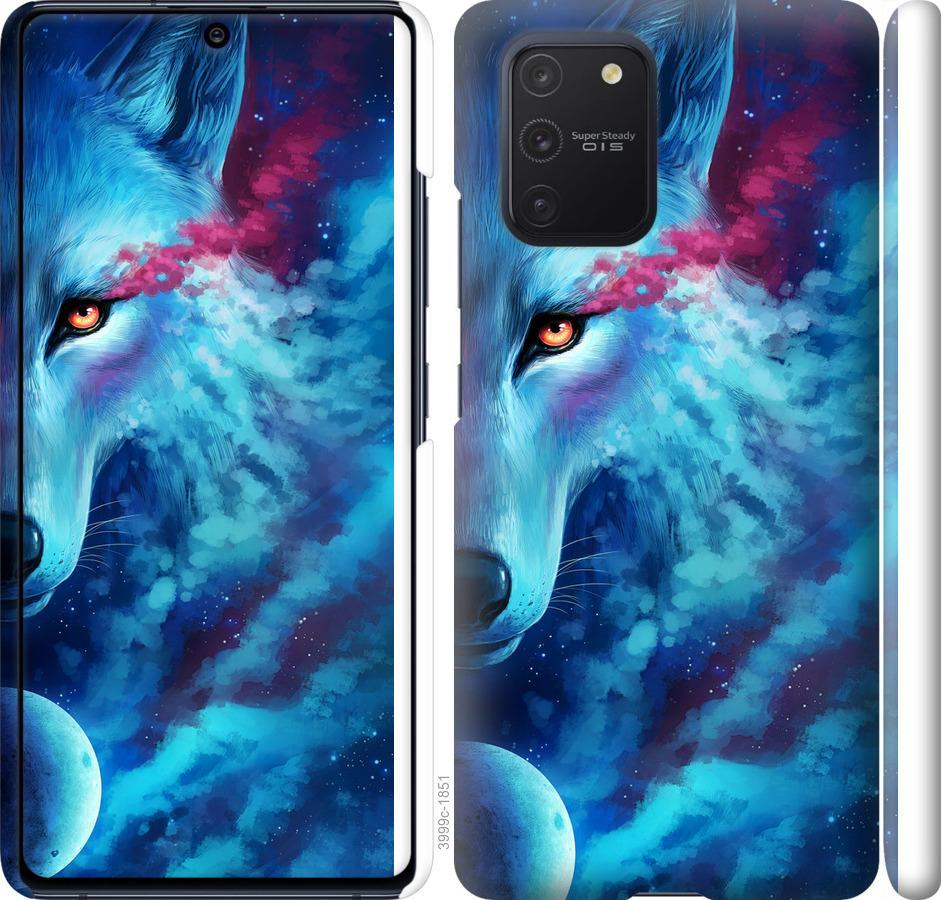 Чехол на Samsung Galaxy S10 Lite 2020 Арт-волк