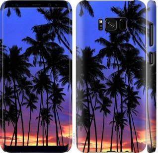 Чехол на Samsung Galaxy S8 Пальмы