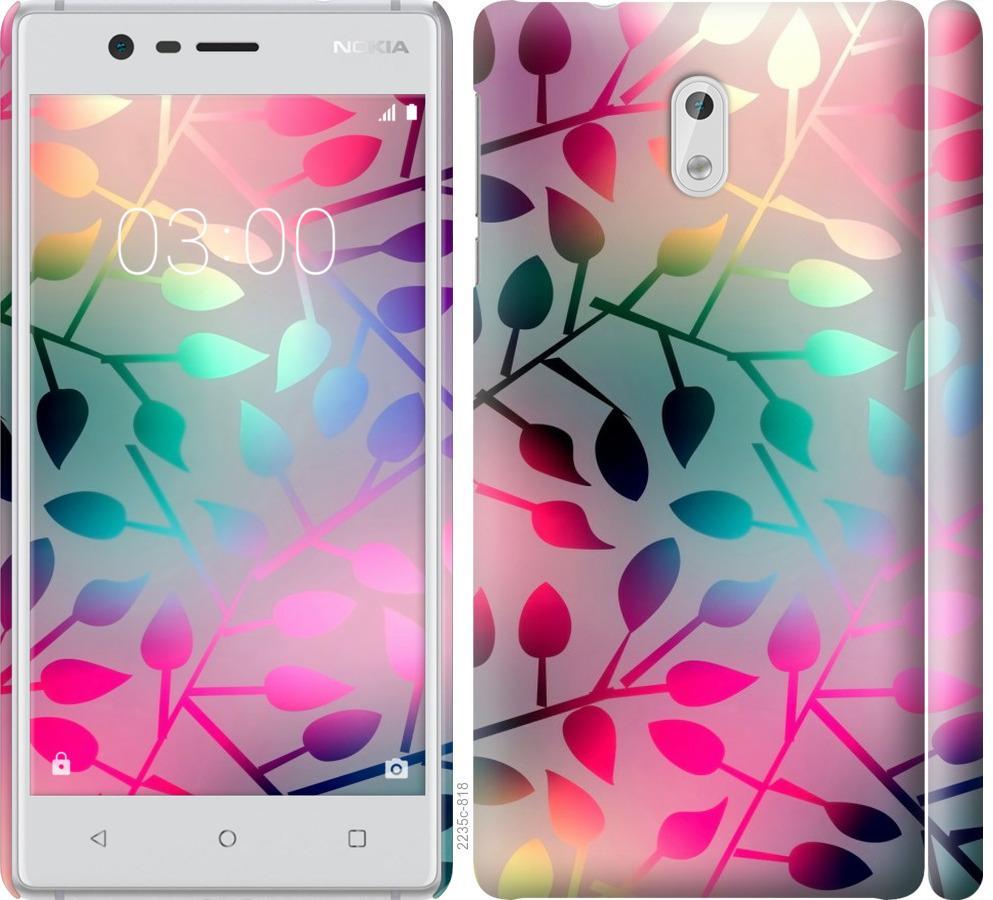 Чехол на Nokia 3 Листья