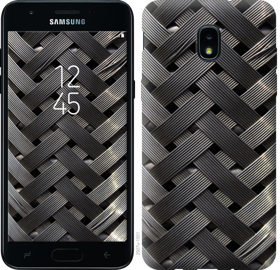 Чехол на Samsung Galaxy J3 2018 Металлические фоны