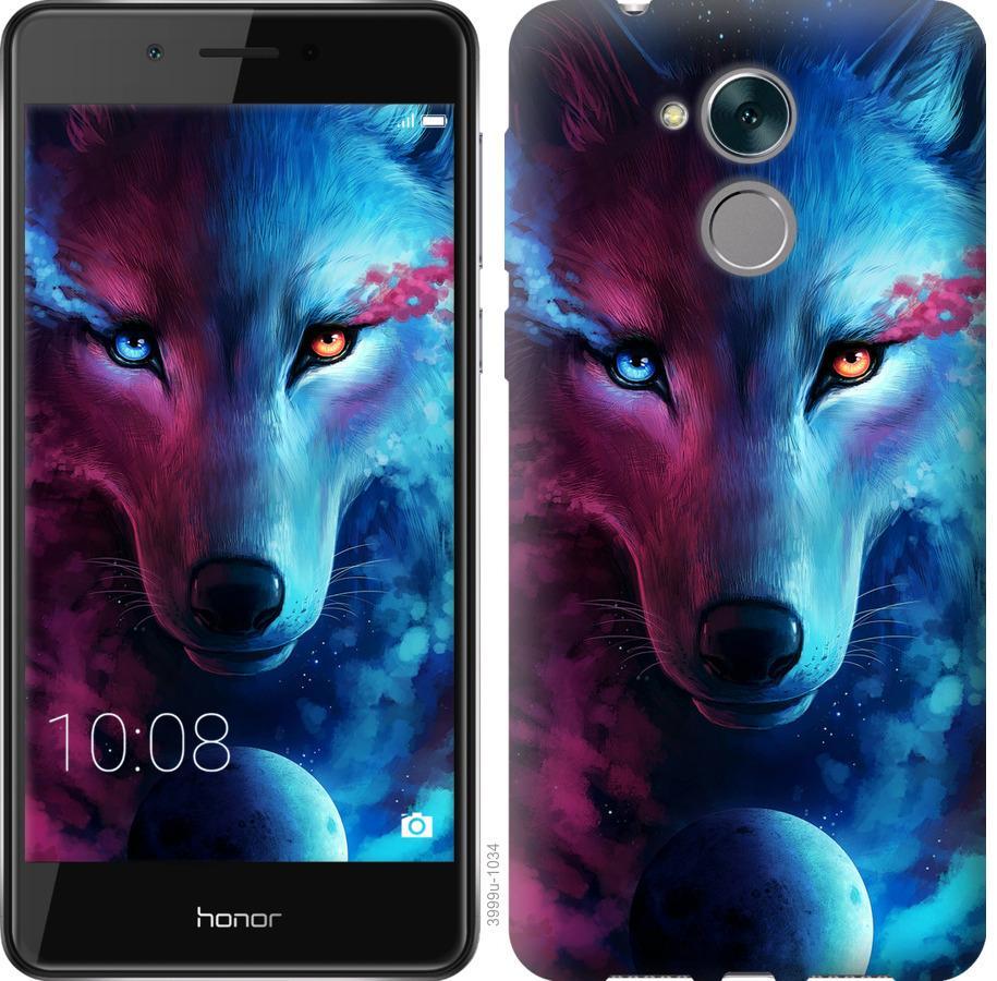 Чехол на Huawei Enjoy 6s Арт-волк