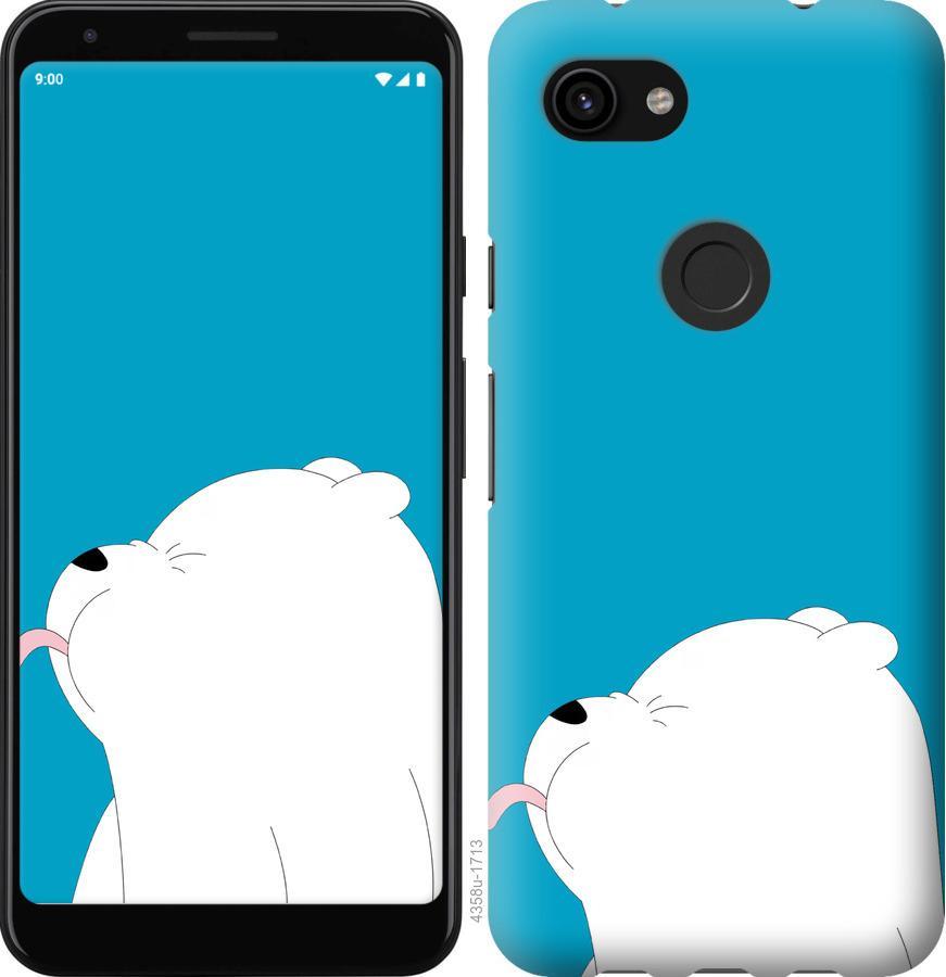 Чехол на Google Pixel 3a XL Мишка 1