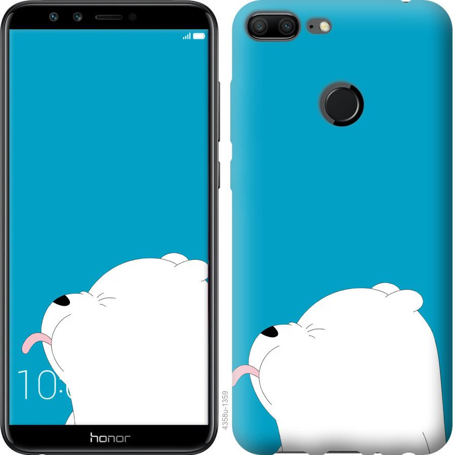 Чехол на Huawei Honor 9i Мишка 1