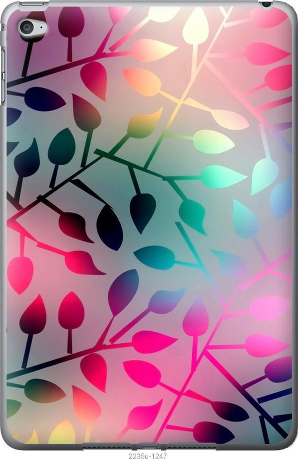 Чехол на iPad mini 4 Листья