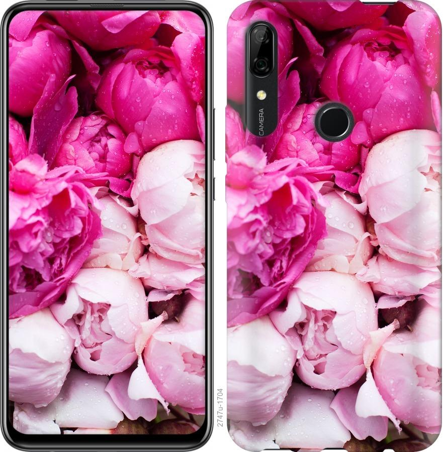 Чехол на Huawei P Smart Z Розовые пионы
