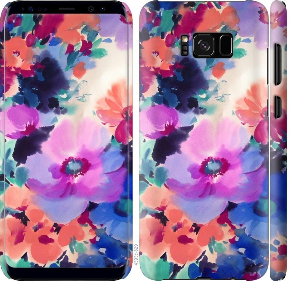 Чехол на Samsung Galaxy S8 Flowers