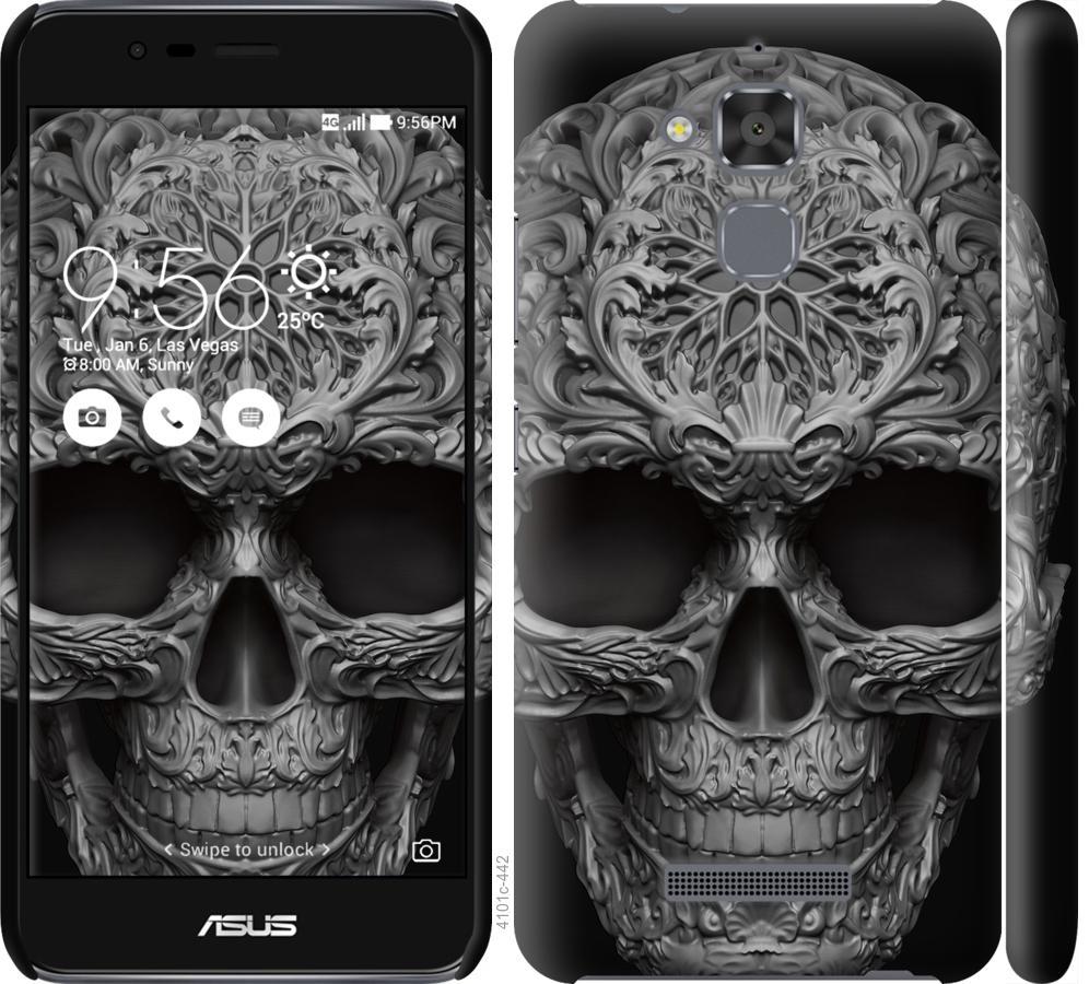 Чохол на Asus Zenfone 3 Max ZC520TL skull-ornament