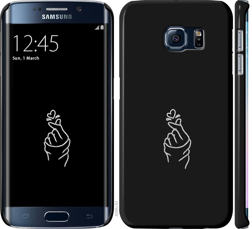 Чехол на Samsung Galaxy S6 Edge G925F Love You
