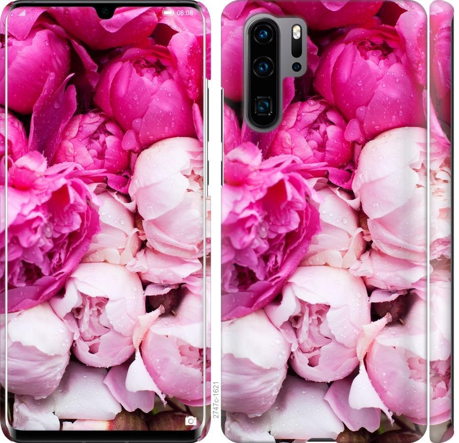 Чехол на Huawei P30 Pro Розовые пионы