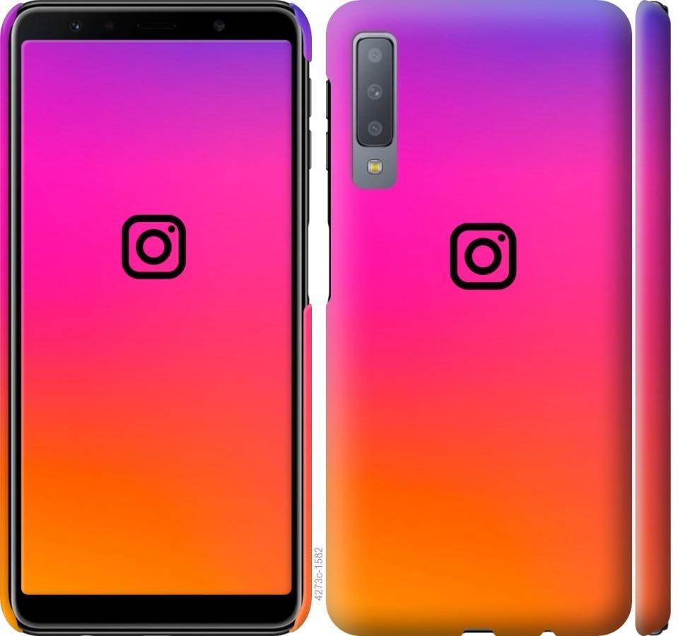 Чехол на Samsung Galaxy A7 (2018) A750F Instagram