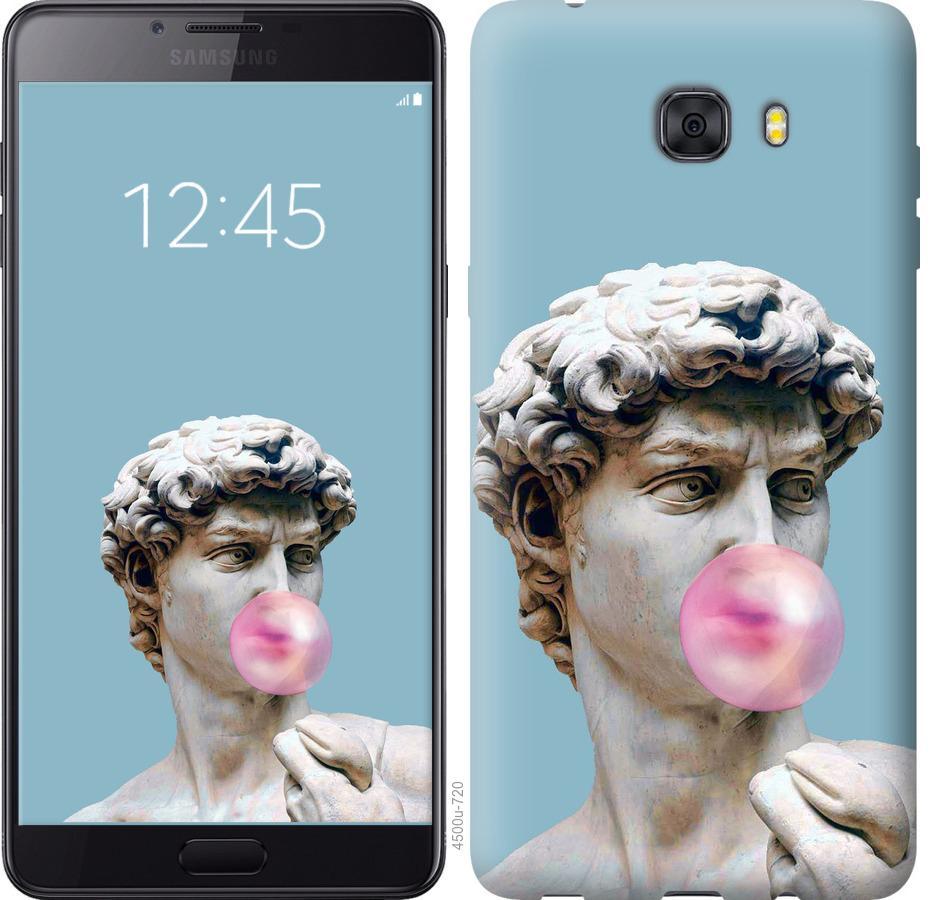 Чехол на Samsung Galaxy C9 Pro Микеланджело