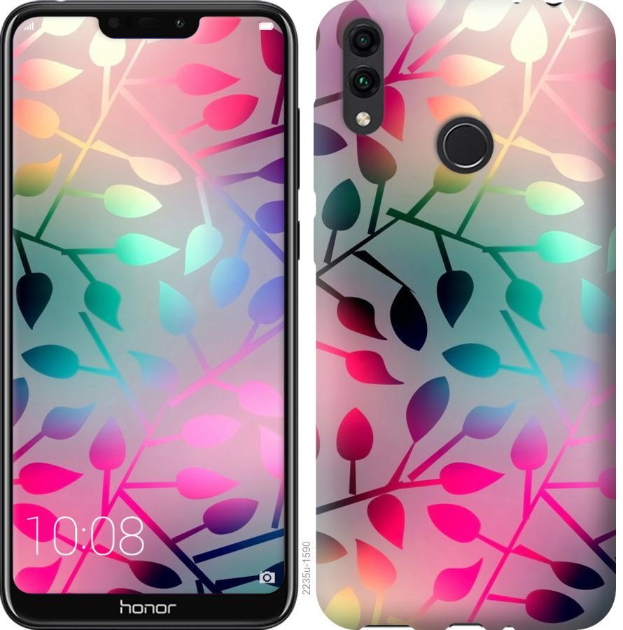 Чехол на Huawei Honor 8C Листья