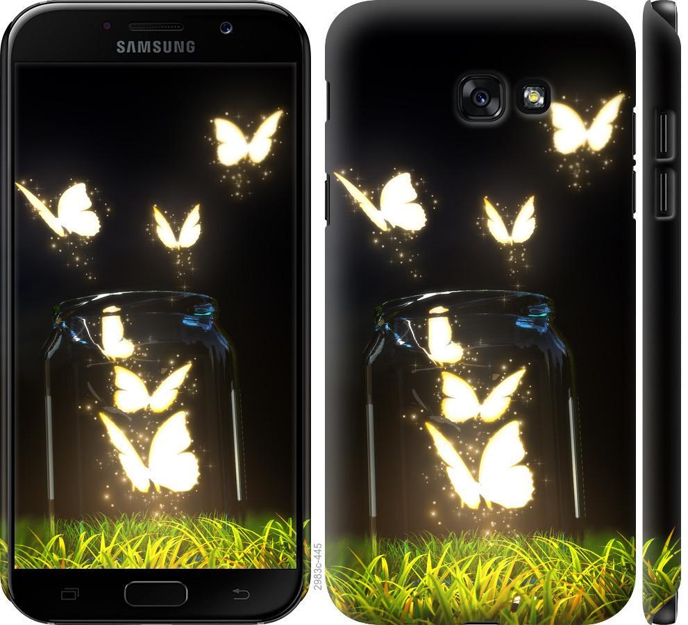 Чехол на Samsung Galaxy A7 (2017) Бабочки