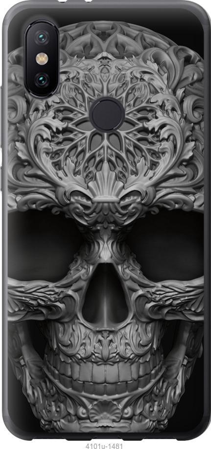 Чехол на Xiaomi Mi Mix 3 skull-ornament
