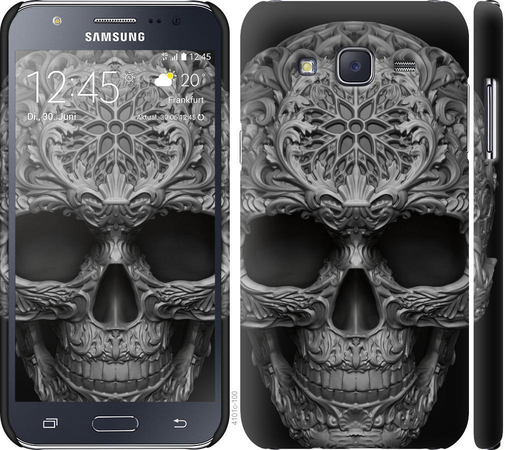 Чохол на Samsung Galaxy J5 (2015) J500H skull-ornament