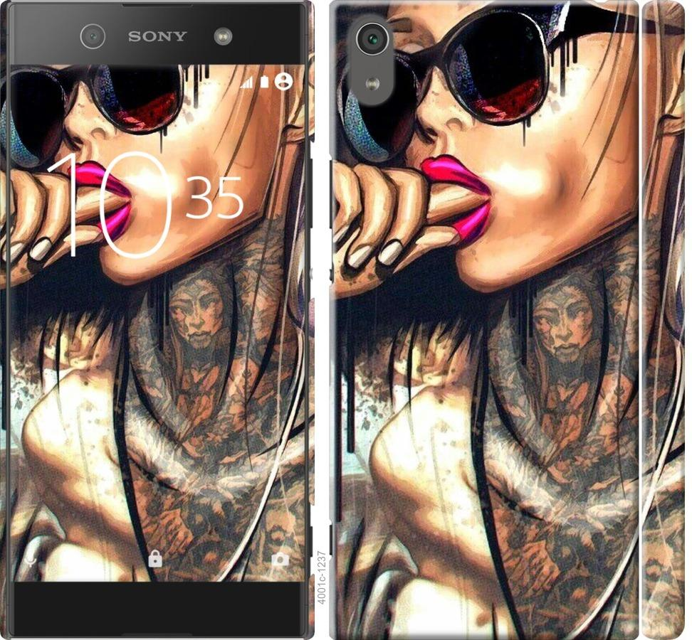 Чехол на Sony Xperia XA1 Ultra G3212 Девушка в тату