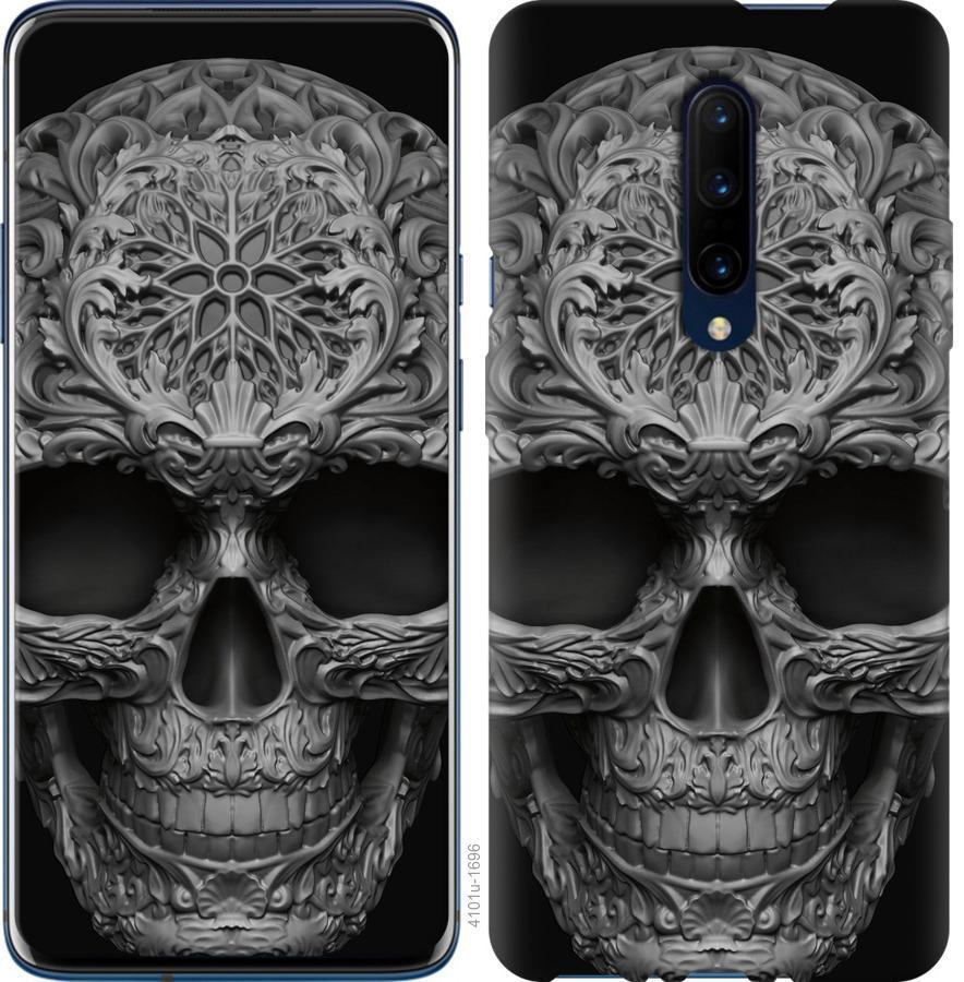 Чехол на OnePlus 7 Pro skull-ornament