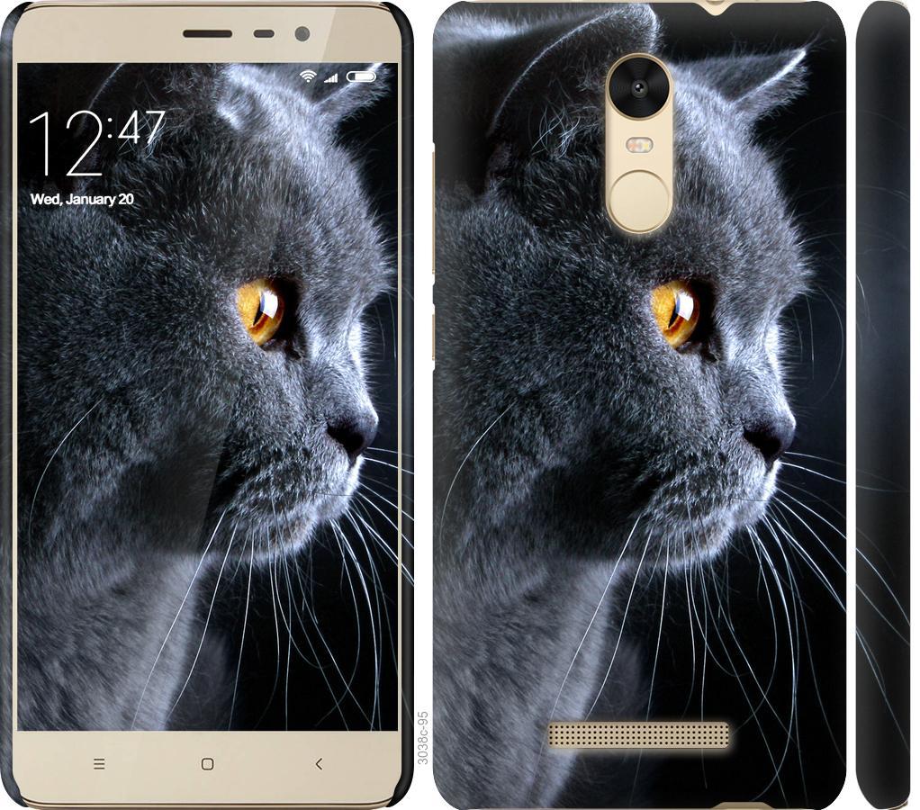 Чехол на Xiaomi Redmi Note 3 Красивый кот