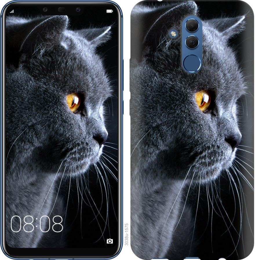 Чехол на Huawei Mate 20 Lite Красивый кот