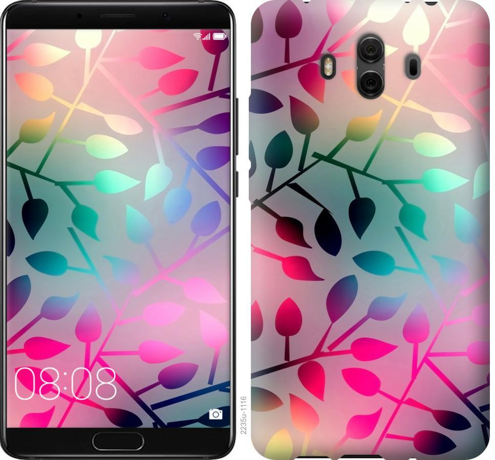 Чехол на Huawei Mate 10 Листья