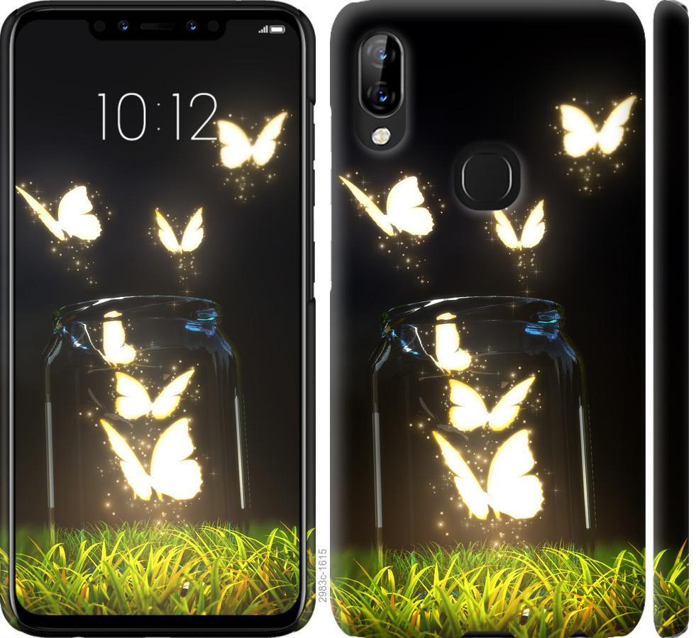 Чохол на Lenovo S5 Pro  Сяючі метелики