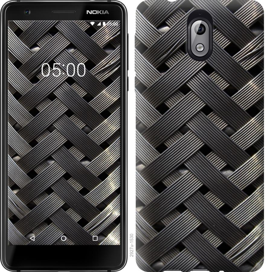 Чехол на Nokia 3.1 Металлические фоны