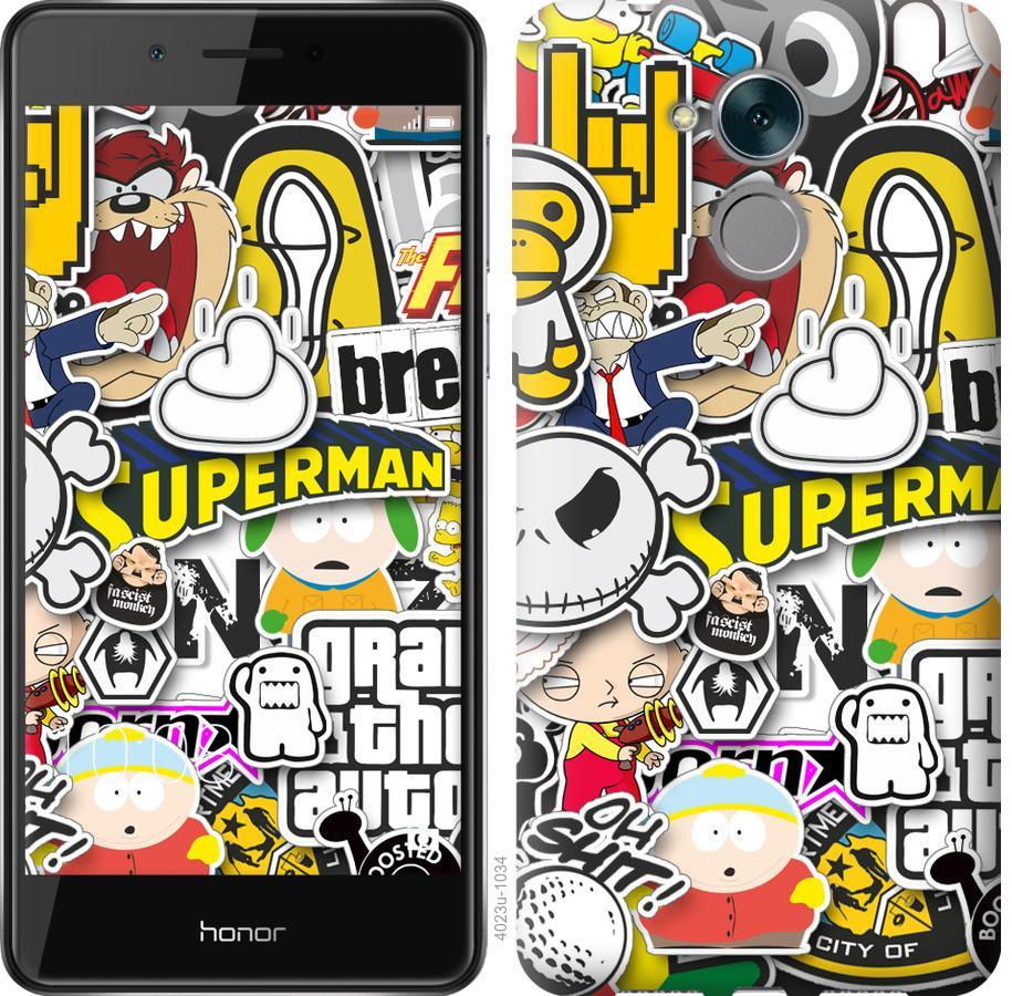 Чехол на Huawei Enjoy 6s Popular logos