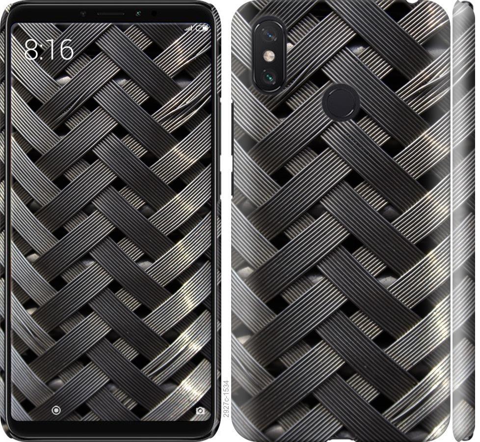Чехол на Xiaomi Mi Max 3 Металлические фоны